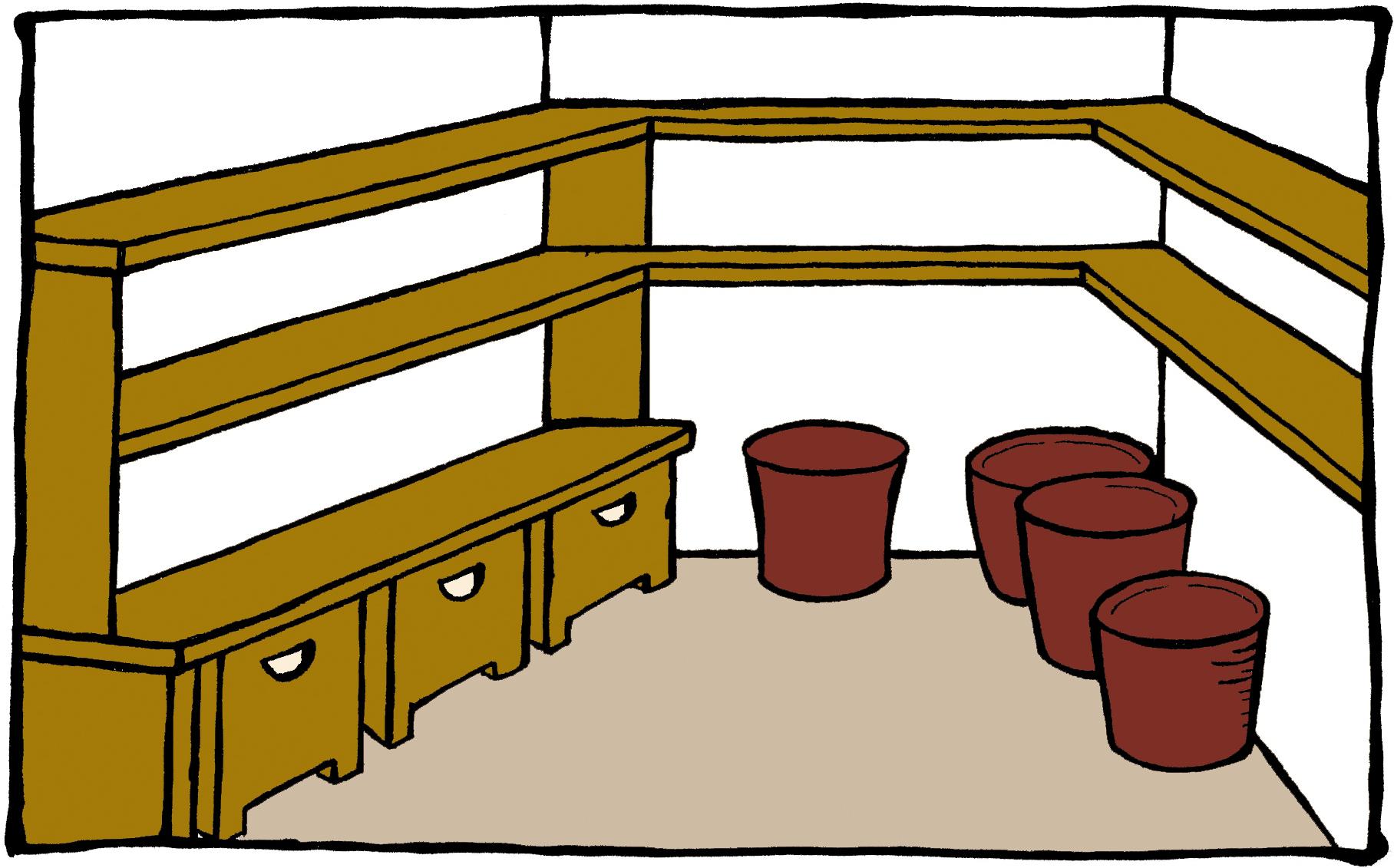 a simple basement cold room laidback gardener. Black Bedroom Furniture Sets. Home Design Ideas