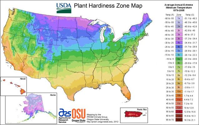 Map Of Canada Hardiness Zones.Understanding Hardiness Zones Laidback Gardener