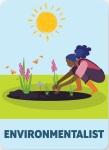 Illustration of environmentalist