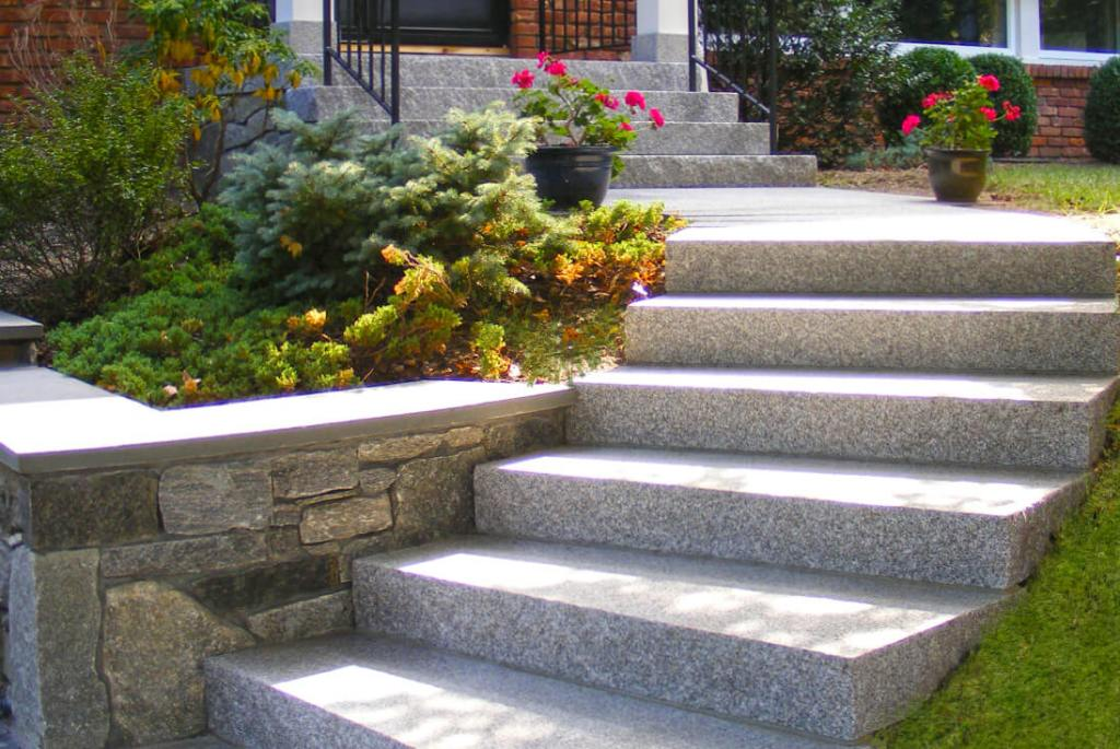 A very solid and perfectly level staircase.
